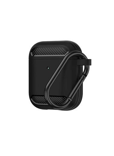 Wiwu Wiwu Apc005 Wireless Şarj Destekli Airpods Kılıf Koruma Siyah